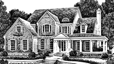 Fox Hall Southern Avenues Sunset House Plans Southern Avenues House Plans