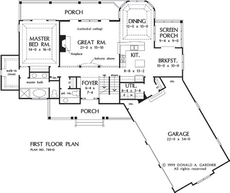 donald gardner floor plans house plan the peekskill by donald a gardner architects