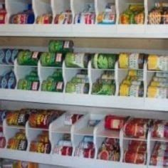 soup can holder for pantry pantry closet storage ideas on pantry