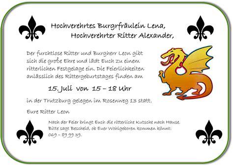 Vorlage Word Mittelalter Deko Einladungskarten Zum Kindergeburtstag Selbst Gestalten