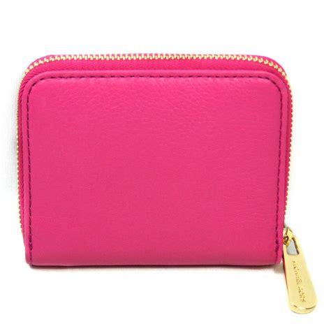 Michael Kors Small Wallet 3 michael kors jet set genuine leather small zip around wallet zinnia 32h2gjsz1l michael kors
