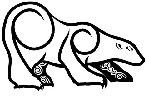 tribal polar bear tattoo 29 amazing polar designs