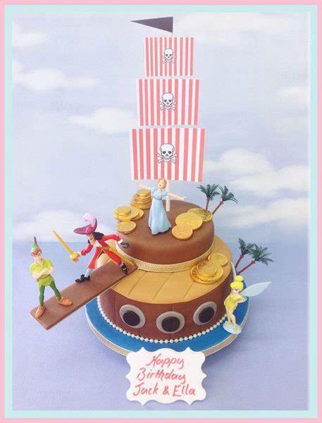 tartas de cumplea 241 os divertidas imagui ideas para crear una escena de peter pan tartas de cumplea