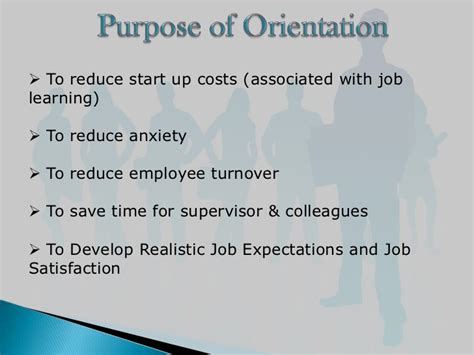 employee induction orientation employee orientation ppt
