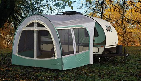 r dome awning with screen room forest river inc manufacturer of travel trailers
