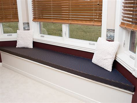 how to make a window bench seat cushion bay window cushions home design