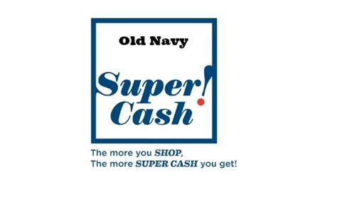 Old Navy Super Cash: Get $10 for Every $25 Purchased ...