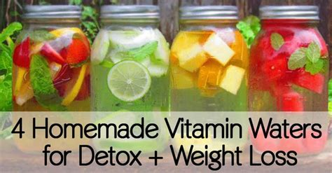 Water Detox Overdose by 4 Vitamin Waters For Detox Weight Loss