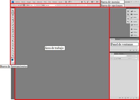 barra de herramientas superior photoshop photoshop