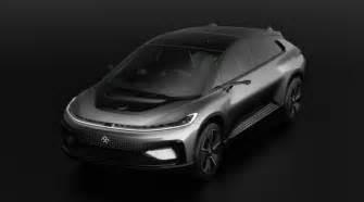 Electric Car Company Vegas Faraday Future Unveils Electric Vehicle Ff91 In Las Vegas