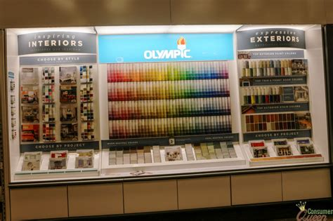 check out the olympic color center at your local lowe s consumerqueen oklahoma s coupon