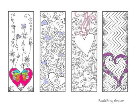 printable doodle bookmarks 8 best images of zentangle bookmark printable printable