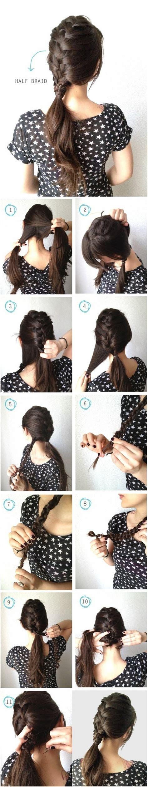 Easy Braided Hairstyles Tutorials by Braiding Hair For Beginners 21 Easy Tutorials