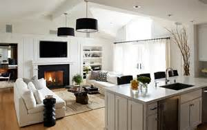 kitchen family room layout ideas how to design a trendy family room