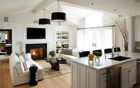kitchen family room design how to design a trendy family room