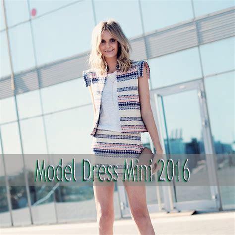 Mini 3 Terbaru trend gaya model dress mini terbaru 2016 fashion terupdate