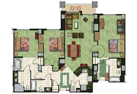 marriott grand chateau 3 bedroom villa floor plan 17 best ideas about south lake tahoe rentals on