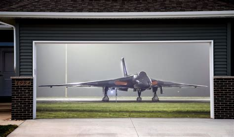 Airplane Garage by 3d Effect Garage Door Billboard Plane Airplane Cover