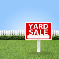 annual yard sale glen park healthy living