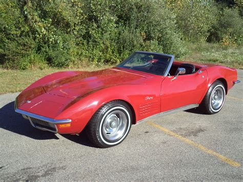 corvette stingray for sale 1970 chevrolet corvette stingray convertible for sale