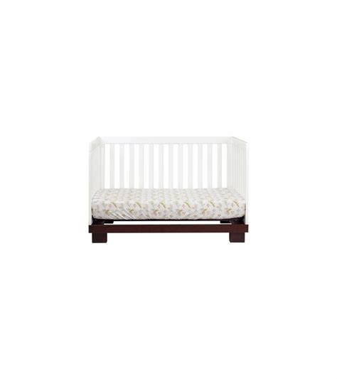Crib Convertible Toddler Bed Babyletto Modo 3 In 1 Convertible Crib With Toddler Bed Conversion Kit In Espresso White