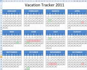 employee vacation calendar template 2015 page 2 new