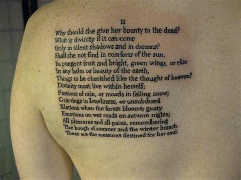 poetry tattoos poem flickr photo
