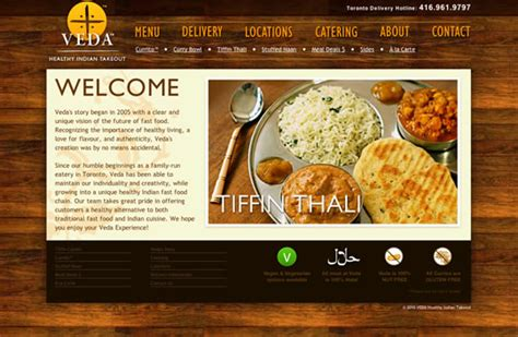 restaurant website layout design showcase of beautiful restaurant websites
