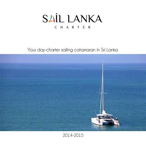 sail charter lanka calam 233 o general brochure sail lanka charter 2014 2015