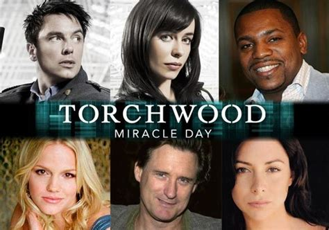 The Miracle Season Characters Torchwood Miracle Day Characters Doctor Who Tv