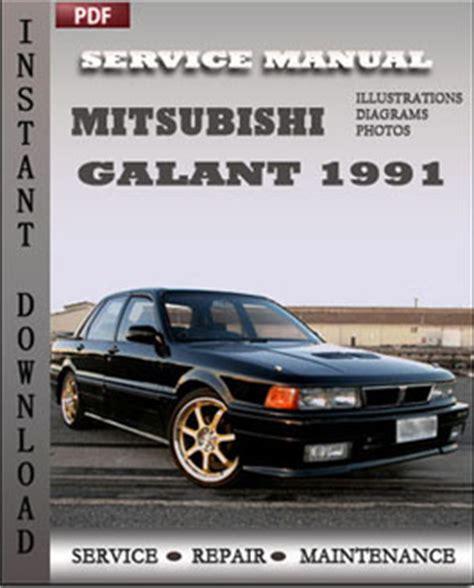 mitsubishi galant 1989 1990 1991 service manual repair7 mitsubishi repair service manual pdf