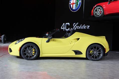 2016 alfa romeo 4c spider picture 612646 car review
