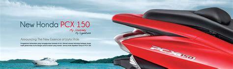 Pcx 2018 Honda Cengkareng by Brosur Motor Honda Pcx 150 My Journey My Signature