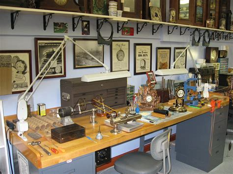 repair bench about bill s clockworks of flora indiana