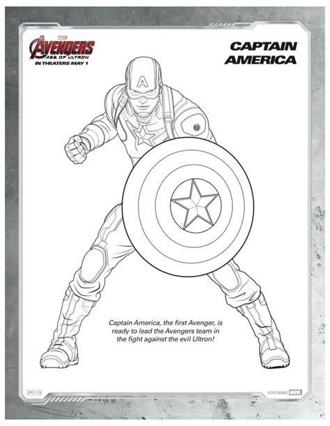 marvel coloring pages pdf marvel avengers captain america coloring page mama likes
