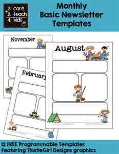 classroom newsletter templates free printable newsletters free printable templates 2care2teach4kids