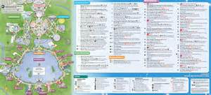 Walt Disney World Magic Kingdom Map by Walt Disney World Maps