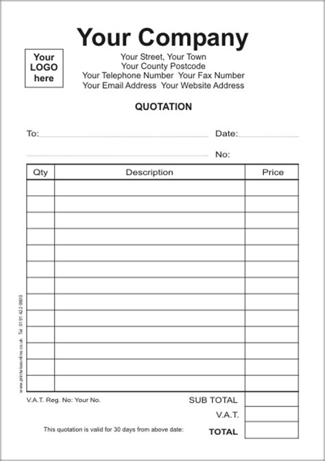 printable quote template use this template a5 estimate form 5 use this template quotes