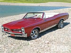 67 Pontiac Gto Convertible 1967 Pontiac Lemans Convertible High Performance Pontiac