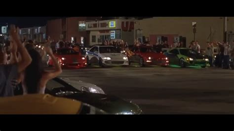 fast and furious race the fast and the furious 1 first race youtube