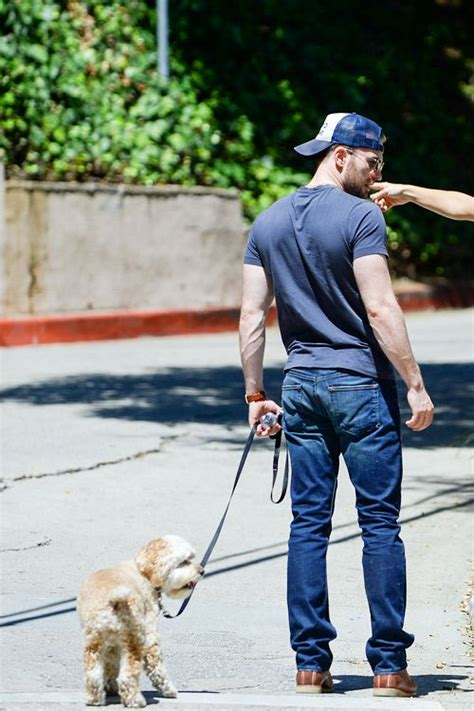 chris dogs mcavoys chris walks his in west chris fangirls