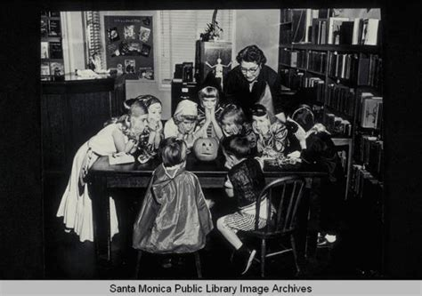 halloween city fairview park santa monica public library library history