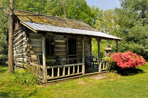 no frills cing cabin for rent in the smoky mountains