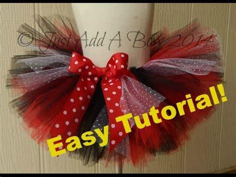 youtube tutorial tutu how to make an easy no sew tutu with elastic waistband