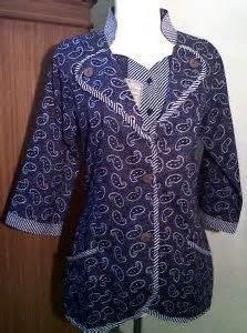 Hem Clasic Twis Atasan Baju Wanita model baju kerja wanita batik ide buat rumah models