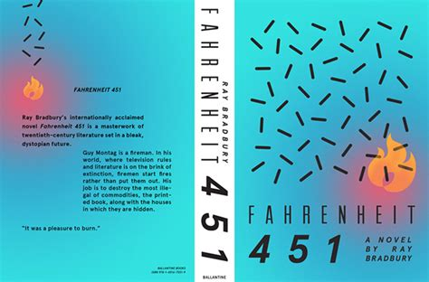 fahrenheit 451 flamingo modern fahrenheit 451 re cover project on behance