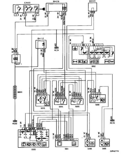 peugeot 306 window wiring diagram free wiring