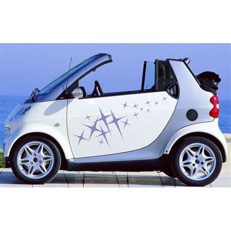 dekor aufkleber aa002 sterne dekor auto aufkleber seitendekor smart
