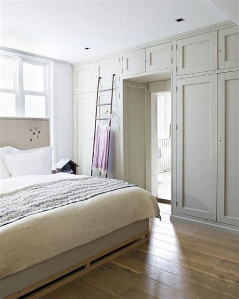 built  cupboards framing  door idea   wall