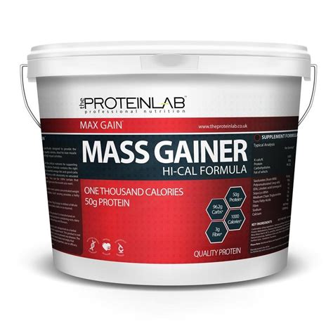 Whey Protein Gainer 4kg Hi Cal Weight Gainer Whey Protein Powder Weight Gain